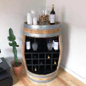Speciel vinreol af hel vintønde